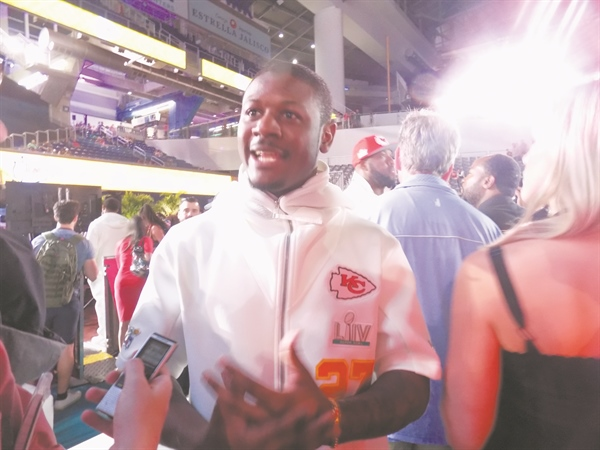 Miami Gardens' Rashad Fenton enjoys Super Bowl win