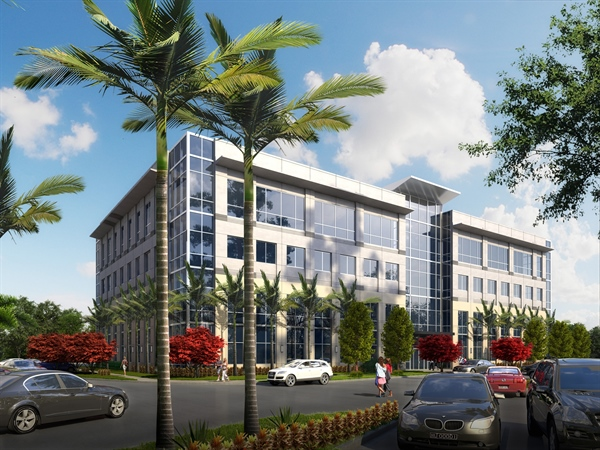Fourth office building to rise at Governors Square campus