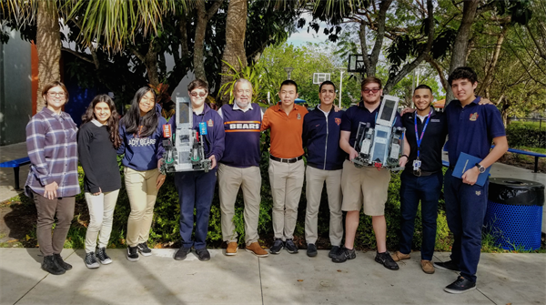 Mater Lakes robotics team competes at regional contest