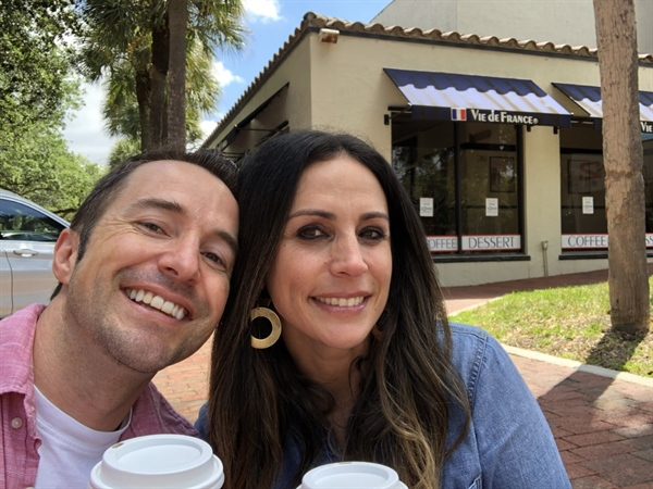 Vie de France is a lucky locale for Miami Lakes couple