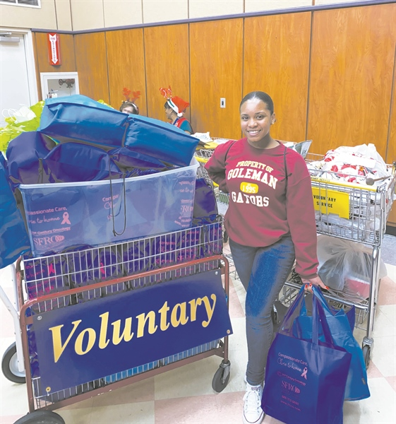 Goleman student wins United Way's Outstanding Youth Award