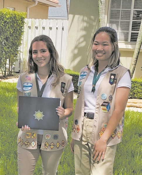 Girl Scouts earn coveted Gold Awards