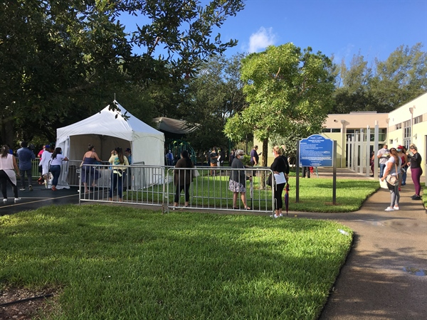 COVID-19 Testing site opens in Miami Lakes