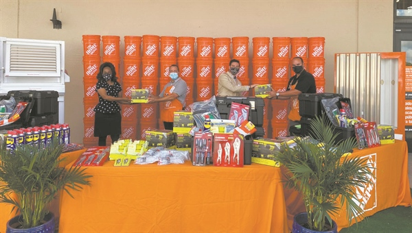 Home Depot store donates tools to 'Jerry's Squad'
