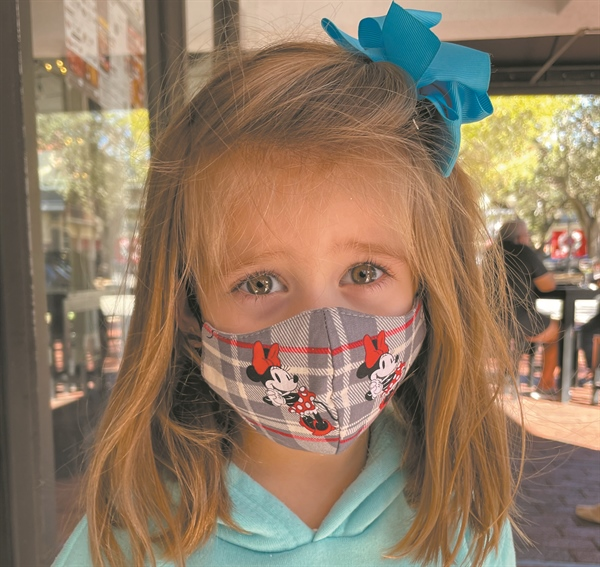 Scene around town: Mask Fashion