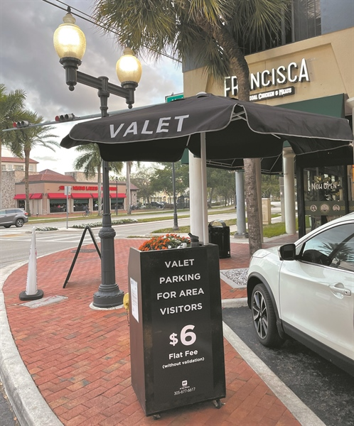 Valet parking comes to Main St.