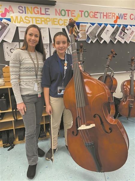 MLK-8 Center student joins All-State Orchestra