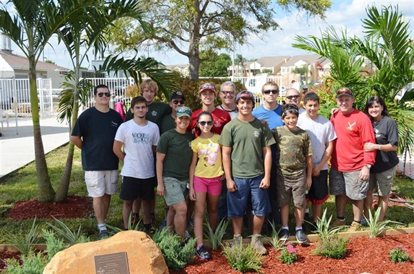 Eagle Scout project completed for Veteran's day