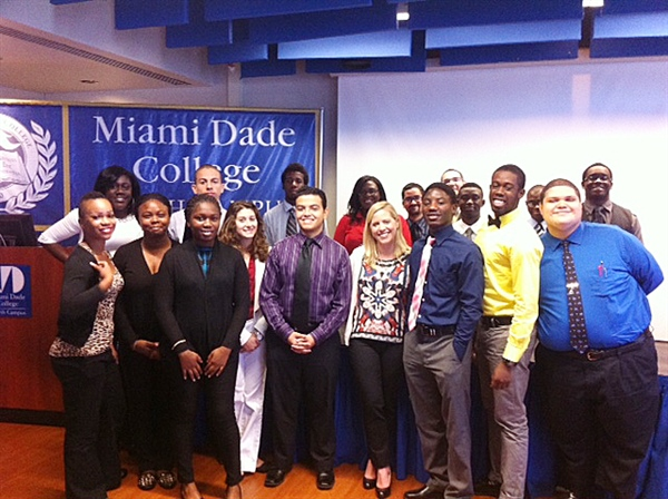 Graham Cos. executive visits MDC College's 'Year Up' group