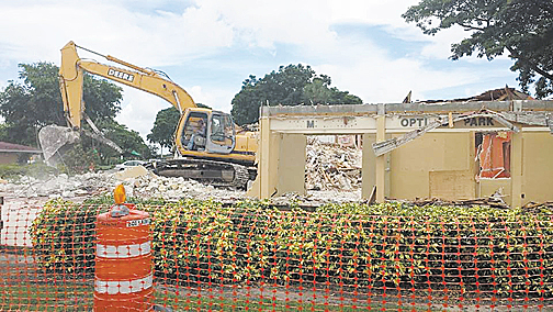 Farewell to old Miami Lakes Optimist Clubhouse