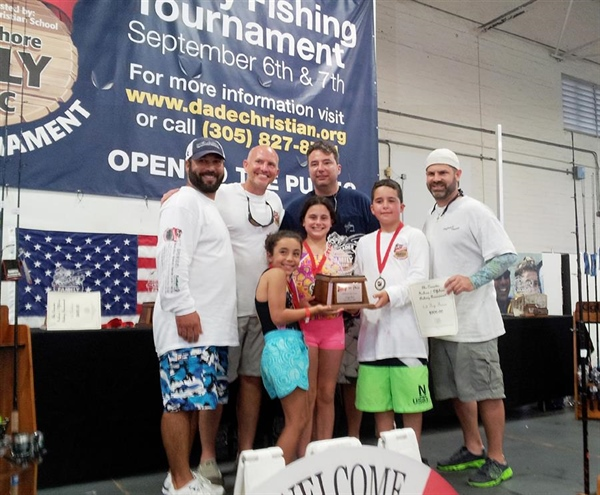 Dade Christian's first annual fishing tournament attracts over 160 anglers