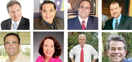 Five have eyes on mayoral seat; three seeking vacant council seat in special election