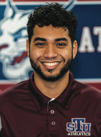 Caesar Asadi, the new men's and women's swimming and diving coach at St. Thomas University. Photo courtesy of the school.